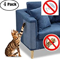 """JCW Cat Scratch Guard Furniture Protector - Four Guards Per Package - (18.5"""" L x 5.9"""" W) - Best Protection from Pets Scratching - Love Your Furniture and Your Cat!"""