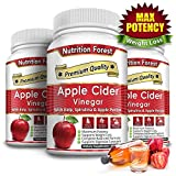 Nutrition Forest Apple Cider Vinegar Veggie Capsules – Extra Strength and Gluten Free Review