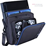 Carrying Case for PS4, New Travel Storage Carry Case, PlayStation Protective Shoulder Bag Handbag for PS4 PS4 Pro/Slim System Console and Accessories