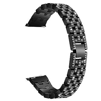 Mamum - Correa de Metal Cristal para Apple Watch Series 4 (40 mm ...