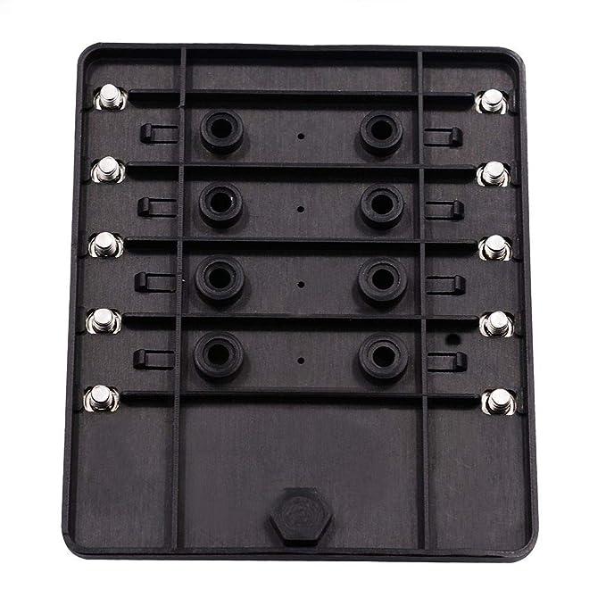 Uzinb 10 Tipo de Manera Caja de fusibles Bloque de fusibles Soporte de la Hoja de circuitos LED Vehículo Indicater Accesorios del Coche: Amazon.es: Hogar