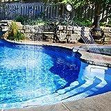 Waterfall Pool Fountain Spray- Adjustable Fun