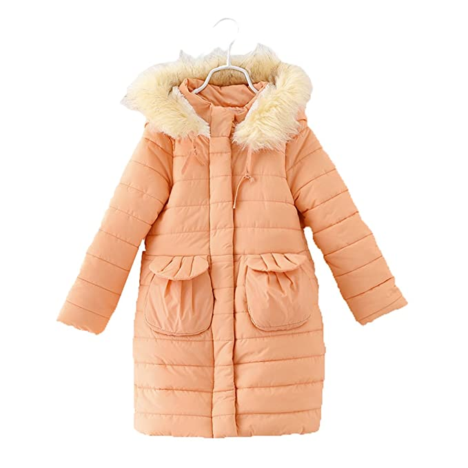 0e7568537 Amazon.com  Lemonkids Children Girls Faux Fur Hooded Winter Outfit ...