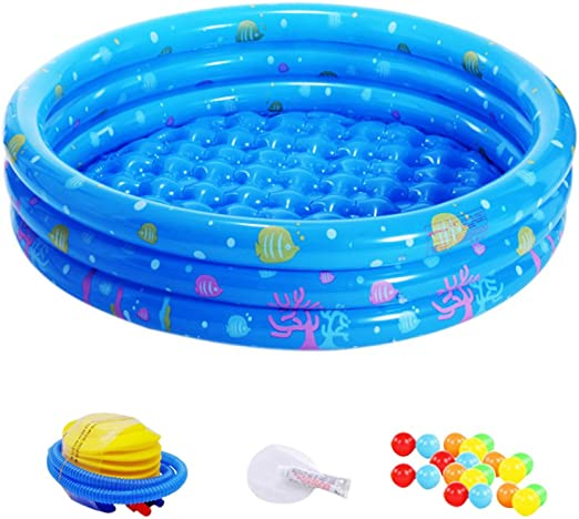 besyonzon 23pcs inflable piscina bañera nourrissons piscina ...
