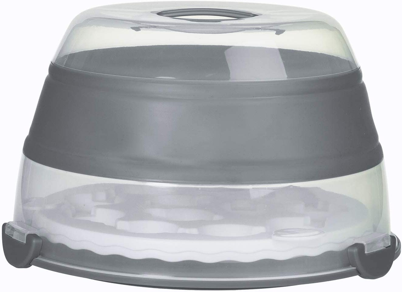 PrepWorks Collapsible Cupcake Carrier, Gray