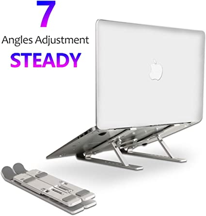 Laptop Stand, Laptop Holder with 7 Adjustable Height...