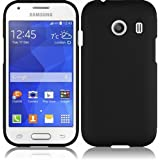 For Samsung Galaxy Stardust S766C Rubberized HARD Protector Case Cover - Black