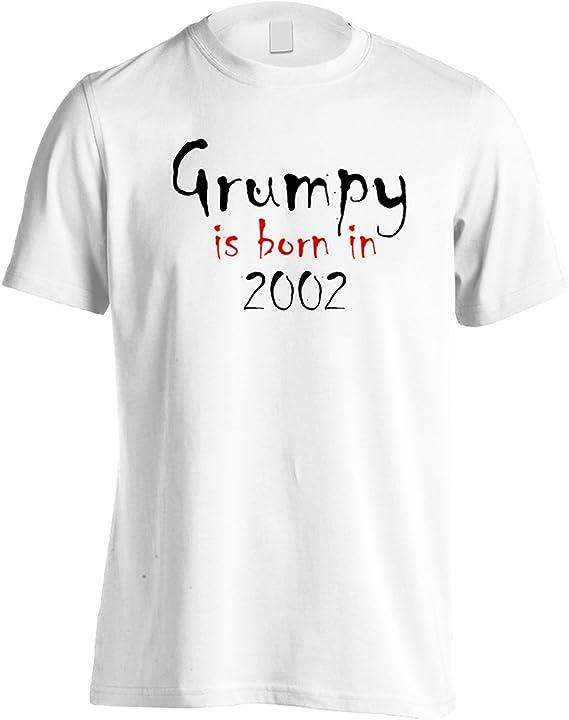 INNOGLEN Grumpy nace en 2002 Camiseta de los Hombres c259m: Amazon.es: Ropa y accesorios