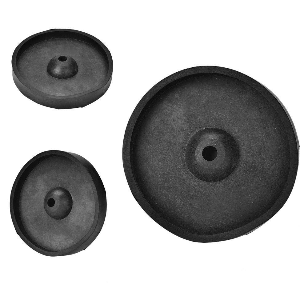 Ring Making Accessory Rubber Jewelry Making Foot Pad Rubber Sprue Base Jewelry Processing Accessory Rubber Base Plate for Wax Casting 3 Inch