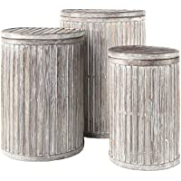 Gold Leaf Design Group Nesting Imperial Basket, Set of 3