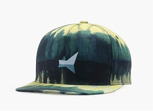 Yizhu Moda Verde Diseño Gorras de Béisbol 3D Impreso Hombres ...