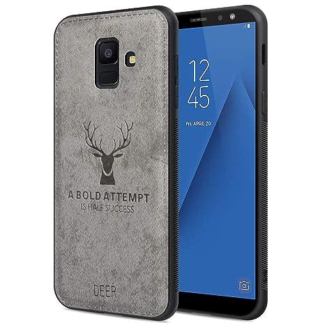 JiatuA Funda Samsung Galaxy A6 2018, Carcasa Movil Samsung ...
