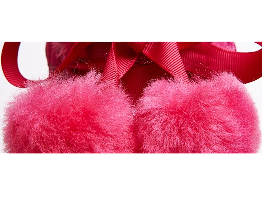 ZCJB Schneestiefel Winter In Den Halten Schlauchstiefeln Warm Halten Den Gemütlich Weibliche Stiefel Rutschfest Frauen Schuhe Flache Schuhe (Farbe : A, größe : 35) 84f356