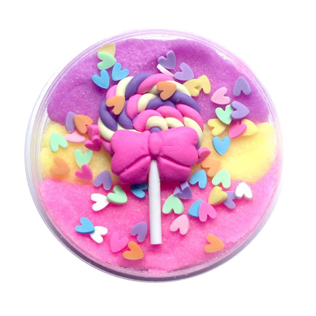 TIMEMEAN Regalo di Plasticin dei giocattoli del Plasticin di rilievo di rilievo dei bambini del giocattolo dei fanghi dell'argilla del melma dei branelli del fango