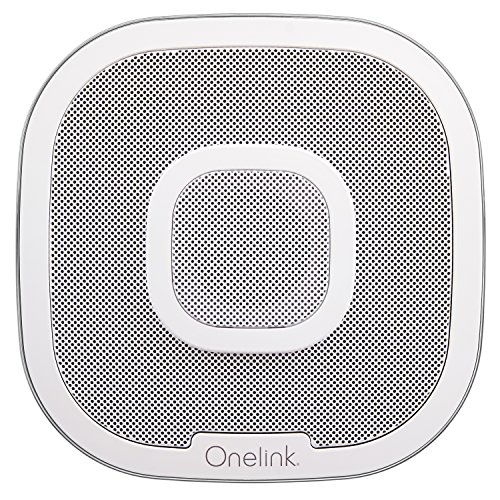 Onelink Safe & Sound Smart Smoke + Carbon Monoxide Alarm and Speaker with Amazon Alexa