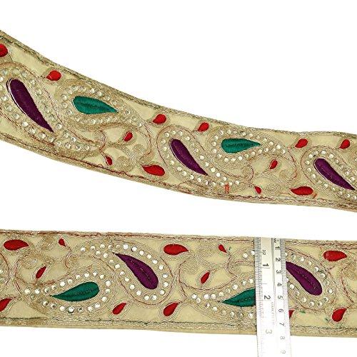 Wide Flat Lace Trim - 8
