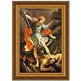 Design Toscano Archangel St. Michael Canvas Replica Painting: Grande
