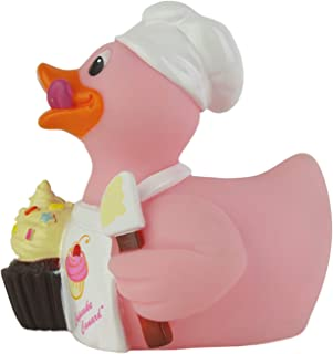 product image for CelebriDucks Cupcake Lover Rubber Duck Bath Toy