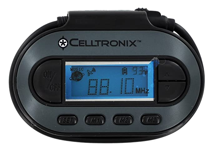 Celltronix 06-CE-2152 Universal FM Transmitter for iPod/MP3 Player