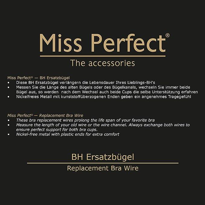 Miss Perfect Accessoires BH Ersatzbügel, 2 Paar: Amazon.de: Bekleidung