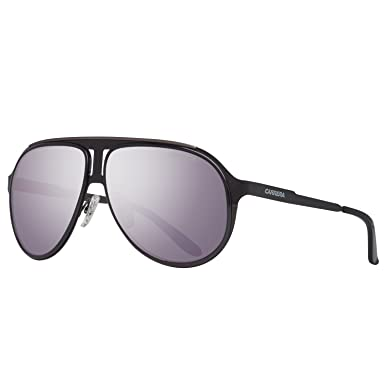 5a398531f7 Amazon.com  Carrera sunglasses Carrera 100 S HKQMI Metal Black Grey with  Petrol mirror effect  Clothing