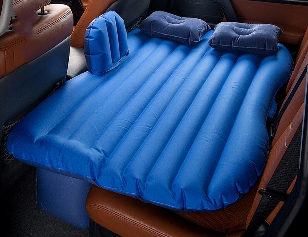 Auto aufblasbare Matratze ZCJB Luftmatratze Auto Schock Bett Picknick Bett Reise Aufblasbare Bett Rücksitz Erweiterte Matratze Universal Car Kissen Camping Luftmatratze Für Kinder (Farbe   Beige)
