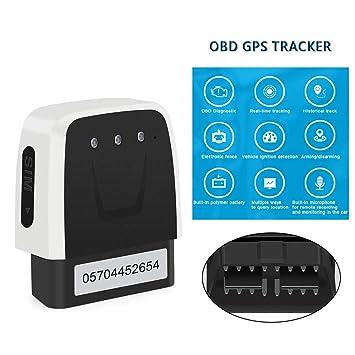 Amazon.com: OBD GSM GPS Tracker OBD2 Diagnóstico de Coche 2 ...