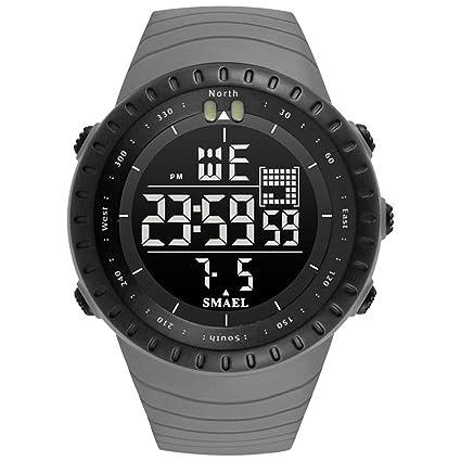 Blisfille Reloj de Hombre Reloj Digital Oro Rosa Reloj para ...