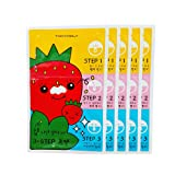 Amazon Price History for:[TONYMOLY] Seedless Strawberry Seeds 3-step Nose Pack 6g (1. 5 Set)