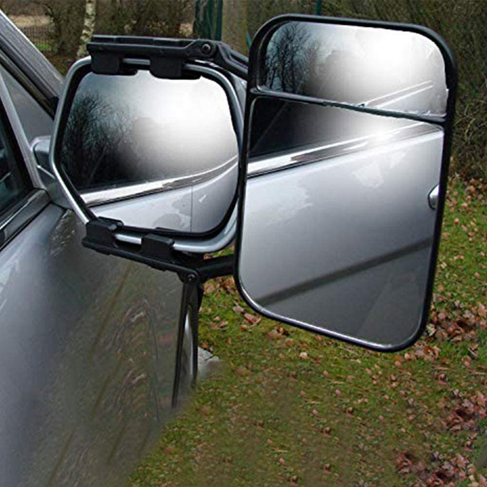 Bessie Sparks Caravan External Mirrors Trailer Extension Towing Dual Glass Long Arm Wing Mirrors Pack of 1 Car Towing Mirror