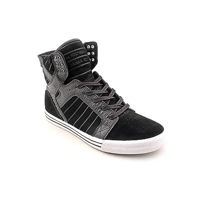 22e21c88cb9 Amazon.com | Supra Men's Skytop Sneaker 11.5 Black | Fashion Sneakers