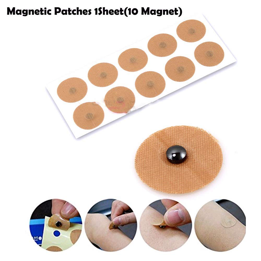 Magnetic Acupressure Patches Pain Relief Body Magnet Muscle Patches Plasters Natural Healing Magnet Therapy by AlexGT (Image #4)