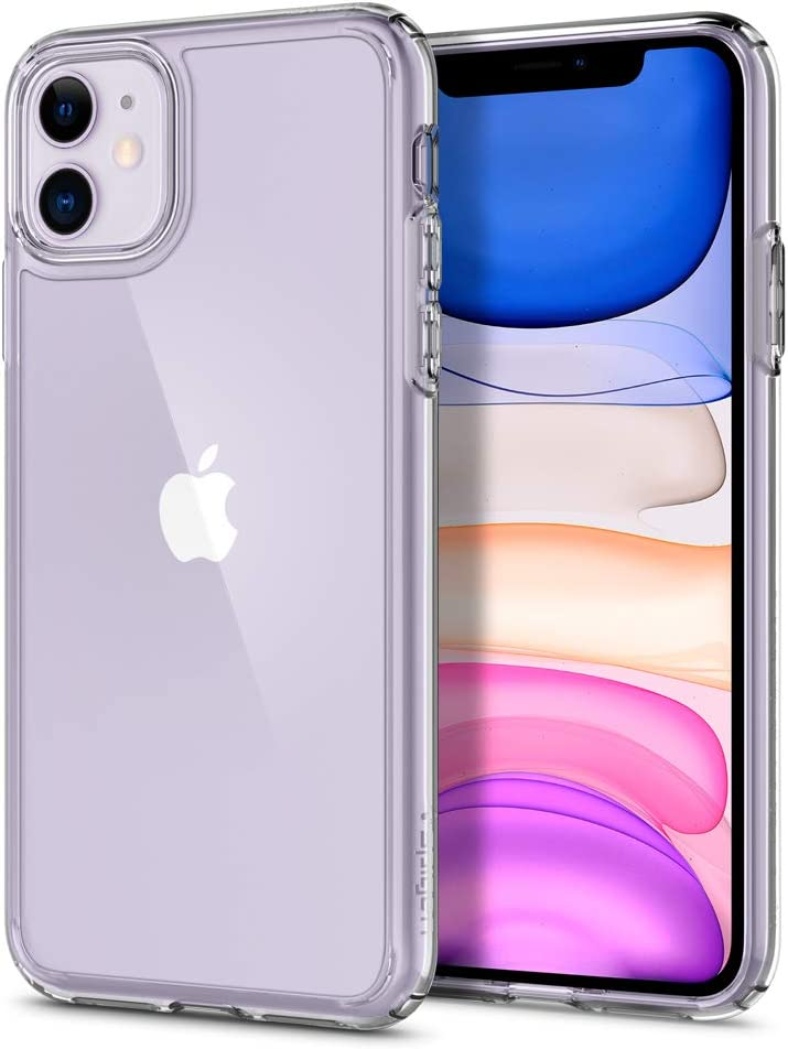 Spigen Ultra Hybrid Designed for Apple iPhone 11 Case (2019) - Crystal Clear