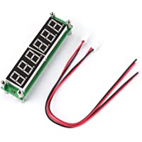 0.1MHz ~ 65MHz 6 LEDs Digital Light Display a LED Frequenzimetro Contatore Tester Modulo ad alta luminosità digitale Cymometer PLJ-6LED-H