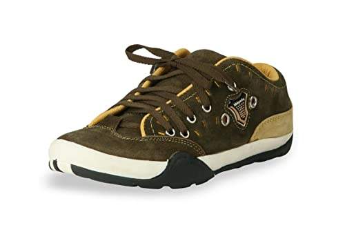 f324cc4c2c8 Bacca Bucci Men Olive Genuine Leather Casual Shoes 8 Uk  Buy Online at Low  Prices in India - Amazon.in