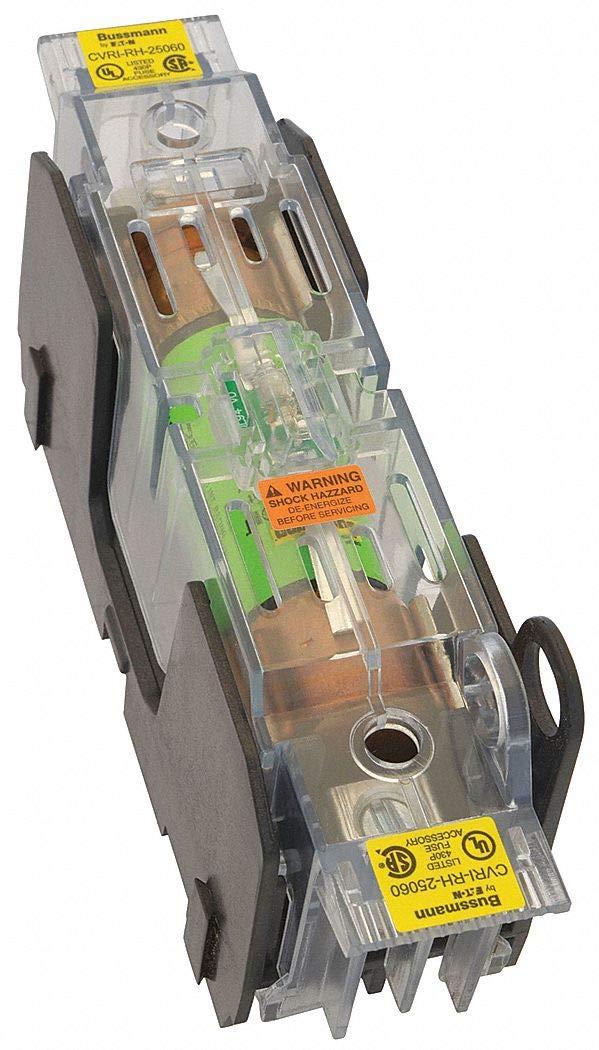 Fuse Block Cover, Indicating, 31 to 60 Amperage Range, 250VAC Voltage Rating