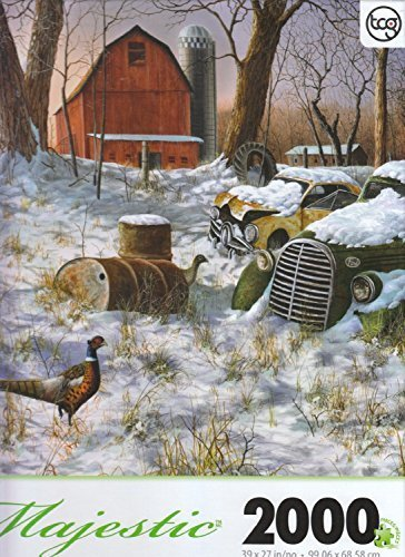 TCG Majestic Winter Haven By Jim Hansel 2000 Piece Puzzle