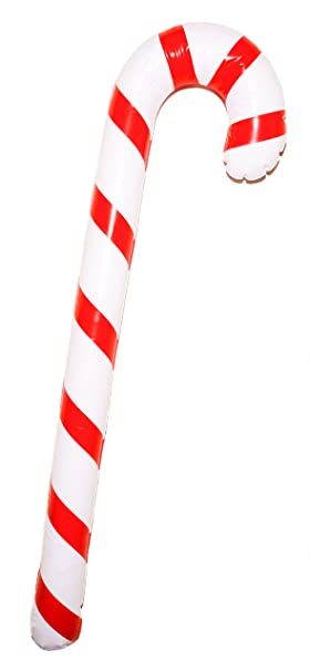 Storm Lighthouse 90cm Inflatable Novelty Candy Cane Giant Candy Cane Perfect Party Decoration Or Fancy Dress Accessory