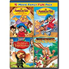 An American Tail: The Treasure of Manhattan Island / An American Tail: The Mystery of the Night Monster / The Tale of Despereaux / The Adventures of Brer Rabbit Family Fun Pack (2008)