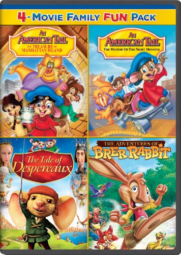 An American Tail: The Treasure of Manhattan Island / An American Tail: The Mystery of the Night Monster / The Tale of Despereaux / The Adventures of Brer Rabbit Family - Manhattan Macy's