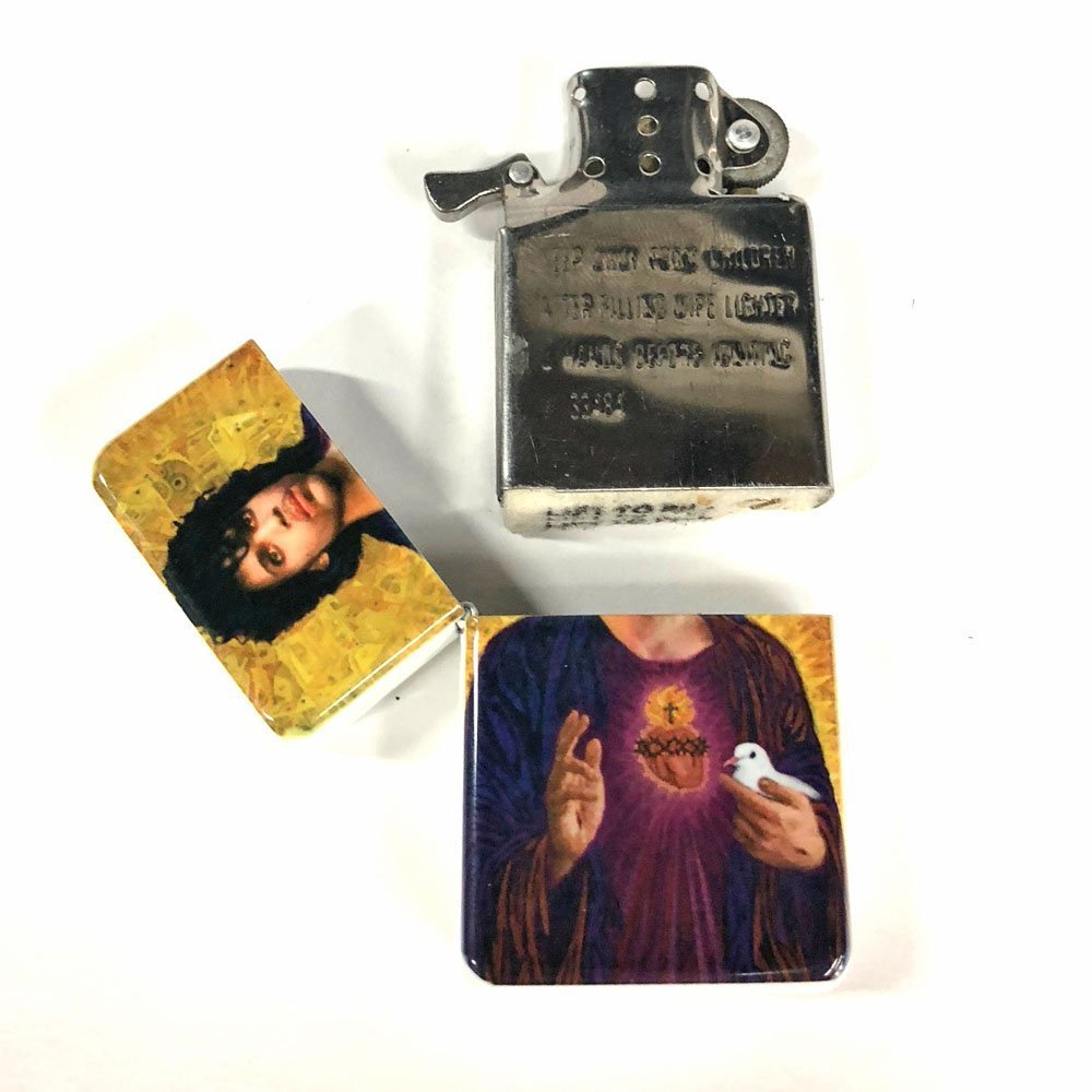 Sacred heart Prince flip lighter