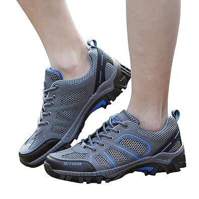 34edc13b78e18 Sonnena-Chaussures de Sport Hommes Chaussures de Sport Multisports Outdoor  Trail Chaussure Running Course Baskets Casual Entraînement Fitness  Randonnée ...