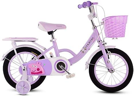 lquide Bicicleta para niños 3-6-7-8 años Bicicleta para niña ...