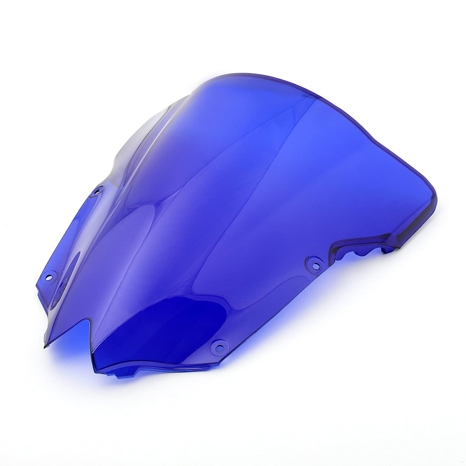 Areyourshop Windshield Windscreen Double Bubble For Yamaha YZF R6 600 2008-2015 Clear