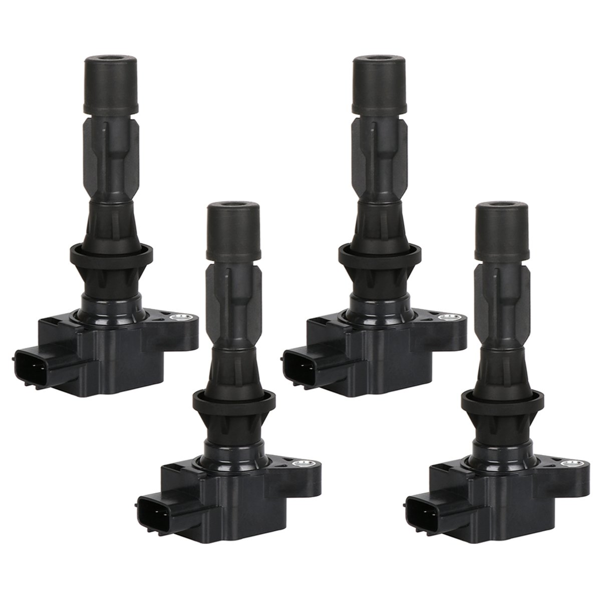 FAERSI Ignition Coil Pack of 4 Replaces OE# UF540 L3G218100A for L4-2006-2013 Mazda 3 2006-2013 Mazda 6 2007-2012 Mazda CX-7 2006-2015 Mazda MX-5 Miata -2 Yr Warranty by FAERSI
