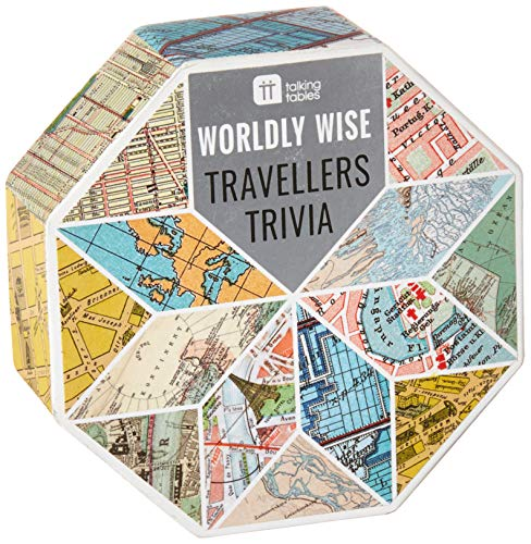 Talking Tables Worldly Wise Trivia Box for Parties, Celebrations, Gifts,