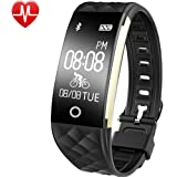 Willful Activity Fitness Tracker Cardio Impermeabile IP67 per Nuoto Bluetooth Smartband Orologio Braccialetto Pedometro, Unisex