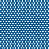 Royal Blue Polka Dot Wrapping Paper
