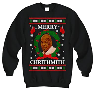 Christmas Mike Tyson Merry Chrithmith Funny Sweater Xmas Sweatshirt