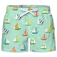 BFUSTYLE Kids Boy's Swim Trunks Mesh Lining Water Resistant Beach Shorts 4-12yrs